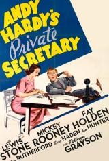 Личный секретарь Энди Гарди (1941), постер 3