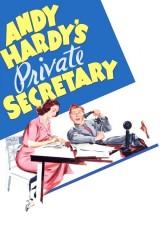 Личный секретарь Энди Гарди (1941), постер 2